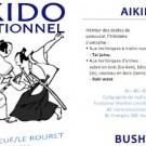 """Depliant club Aikido """"Aiki Dojo Azur"""""""