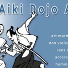 Affiche Aiki Dojo Azur