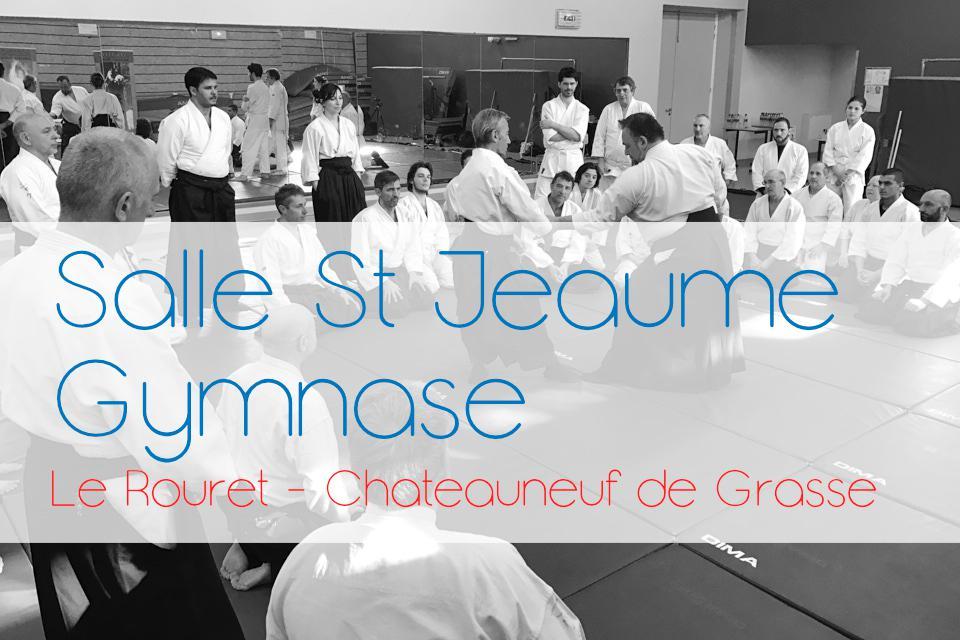 Salle-Saint Jeaume - Gymnase College Le Rouret / Chateauneuf
