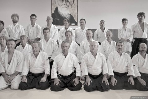 Stage Aikido à Cabestany - Daniel Toutain - 06/2014
