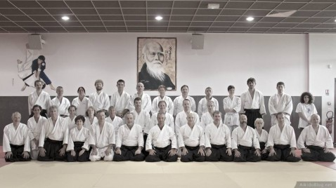 Stage Aikido à Cabestany - Daniel Toutain - 06/2014