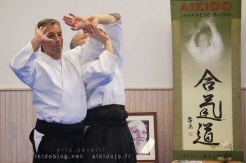 Stage Aikido - Daniel Toutain - Cheateauneuf de Grasse 06
