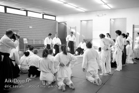 Stage Aikido - AIKI DOJO AZUR 01/2015 - Daniel TOUTAIN © E.Savalli
