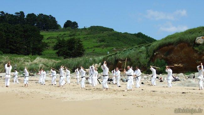 Stage inter-clubs Aikido à Lannion - 06/2010