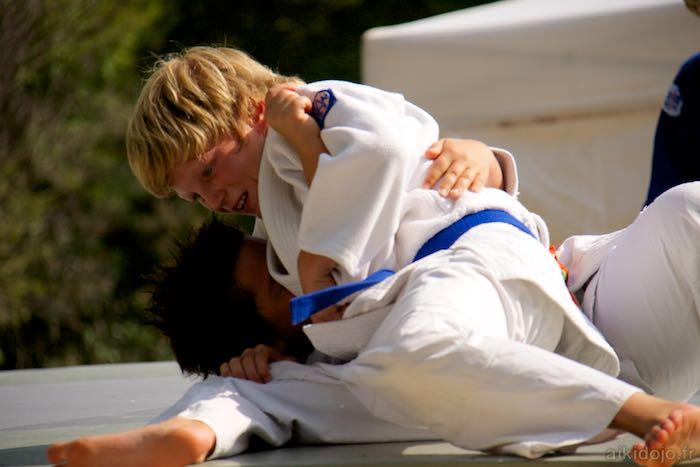 Judo au Forum des assocations à Bar s/Loup