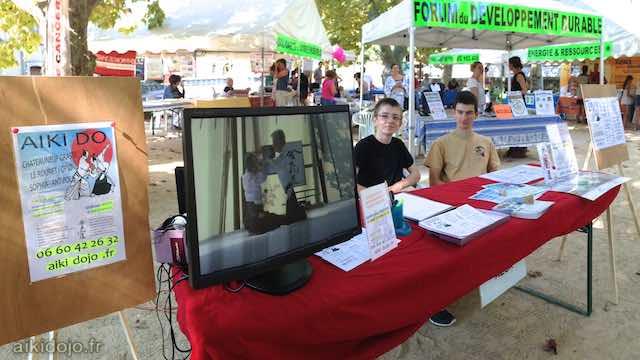 Forum des associations à Le Rouret (06) - 09/2014