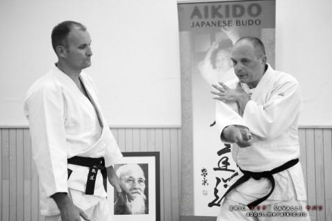 Stage Aikido & Tonfa - Vincent DEVLAEMINCK - Eric SAVALLI