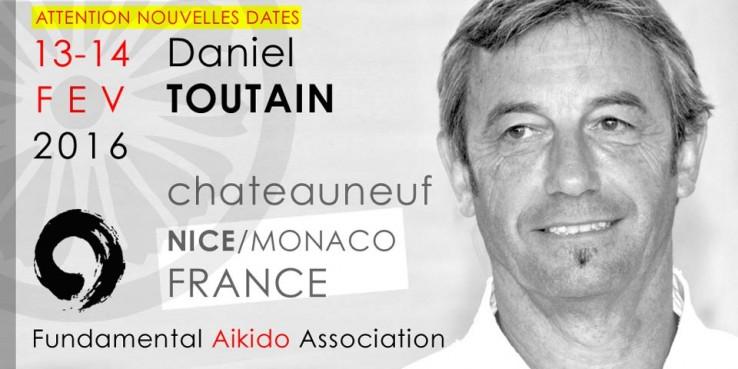 Stage à Nice 2016 avec Daniel Toutain Sensei