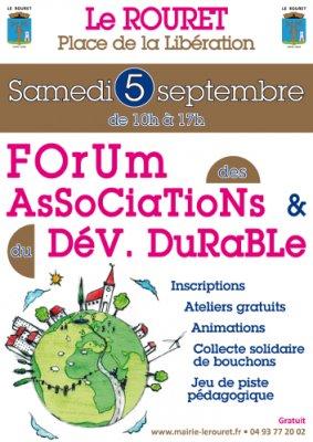 Le Rouret - Forum des associations au rouret 2015