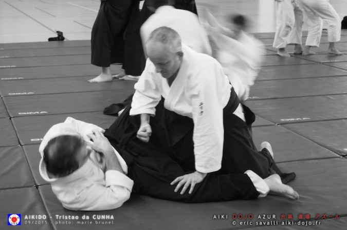 Seminar directed by Tristao Da Cunha Sensei - 09/2015 - Organized by Aiki Dojo Azur / Eric Savalli