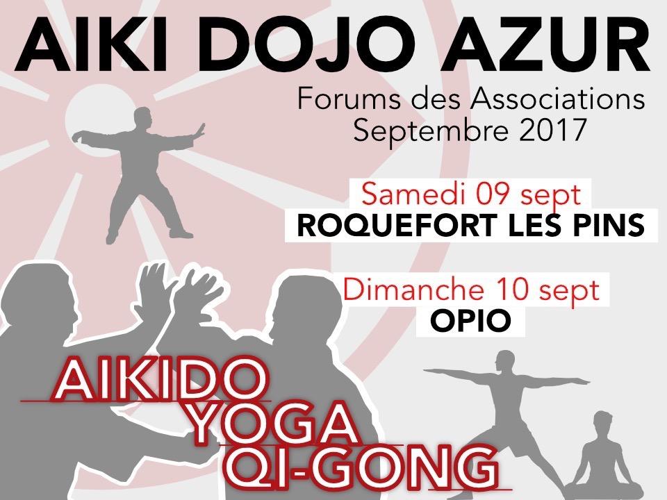 Forum des associations - Chateauneuf de Grasse / Opio / Roquefort Les Pins