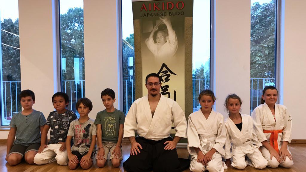 Cours Aikido Enfants avec Luca