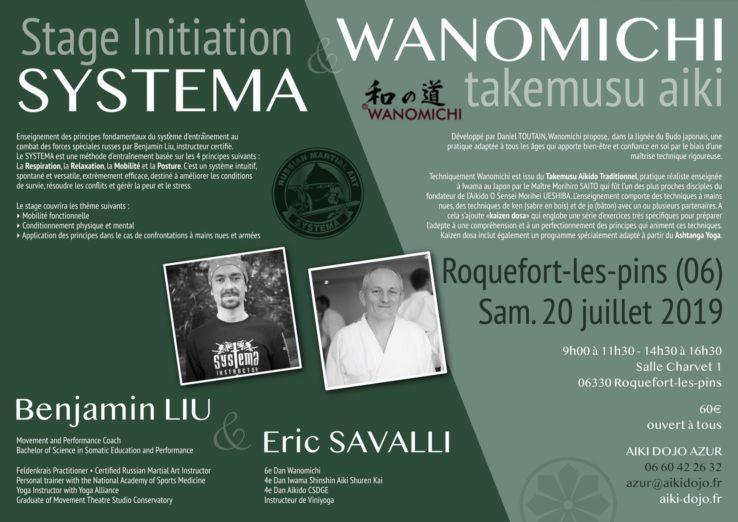Stage Systema et Aikido - Découverte / Initiation