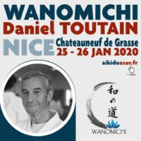 2021-01: Grand stage Wanomichi avec Daniel TOUTAIN – Nice / Chateauneuf