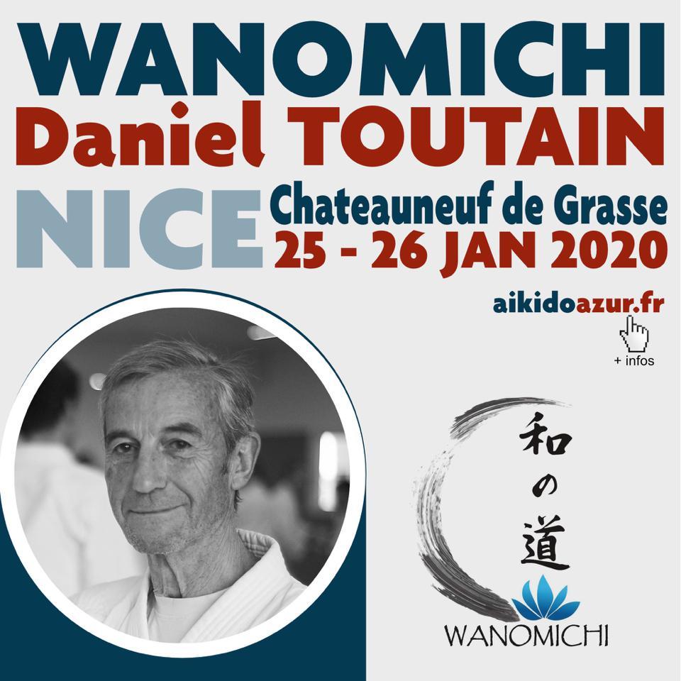 Seminar in Nice with Daniel Toutain Sensei and Sonia Sensei