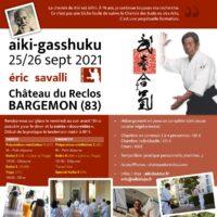 09/2021: Stage Aikido«aiki-Gasshuku»