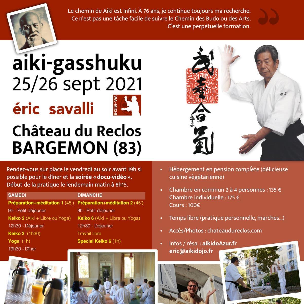 Stage Aikido Uchi Deshi 09-2021